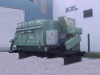 23,000 CFM Electric Unit | BGRS Inc | Portable Dust Collectors