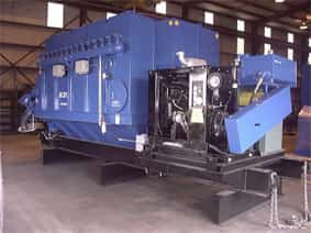 24,000 CFM Diesel Unit | Portable Dust Collectors