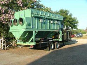 45,000 CFM High Profile Unit   Portable Dust Collectors