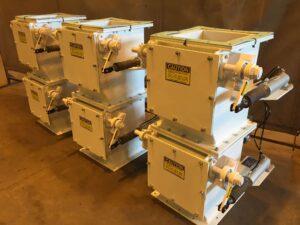BGRS Inc | Double Dump Gate Airlock Valves