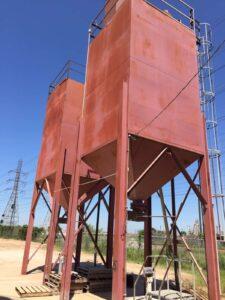 Bulk Hopper Vent Dust Bag | BGRS Inc